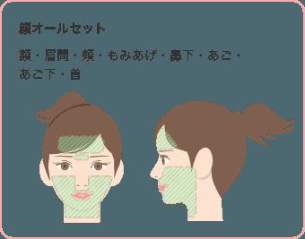 顔オールセット